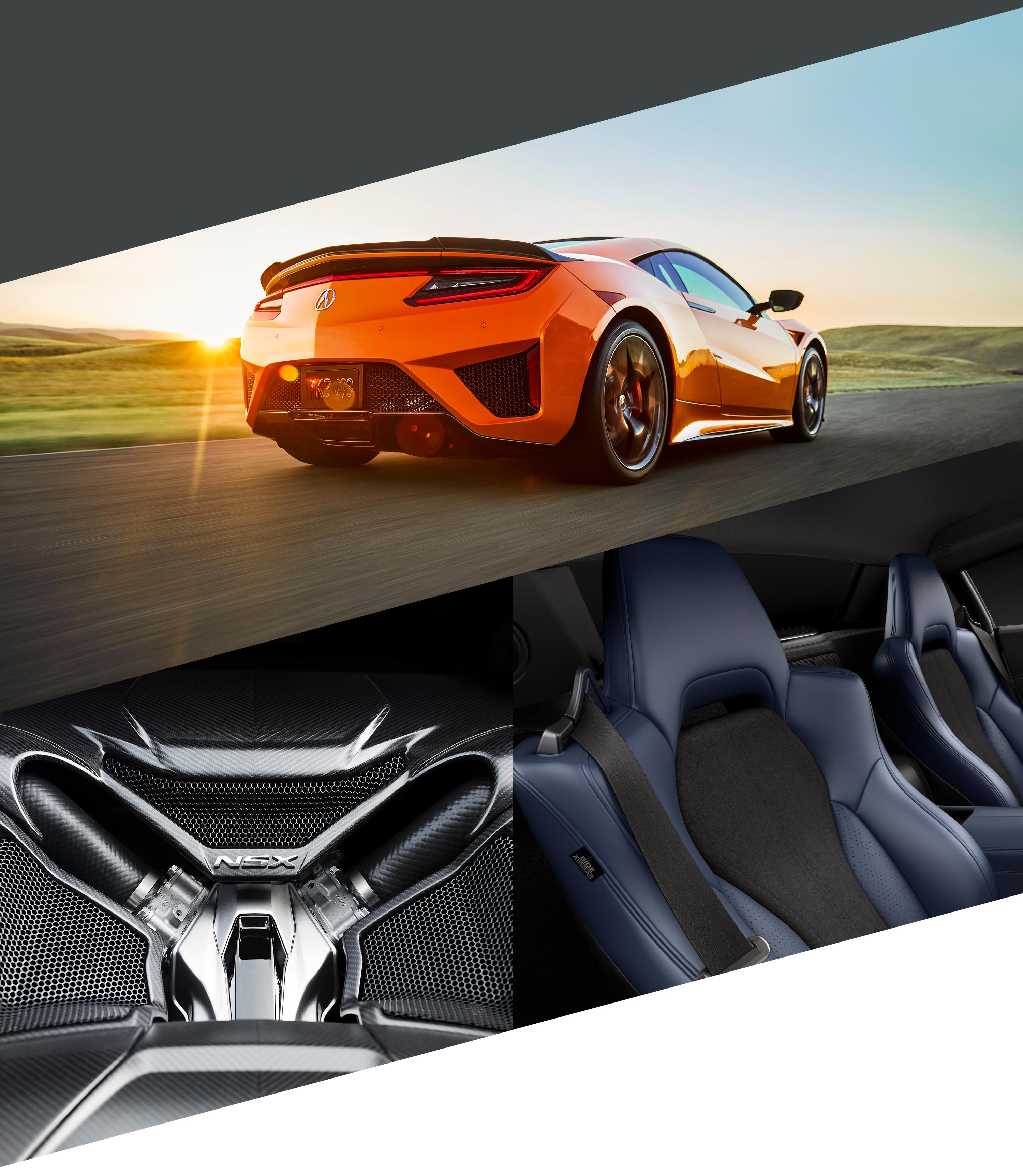 2020 Acura NSX Collage