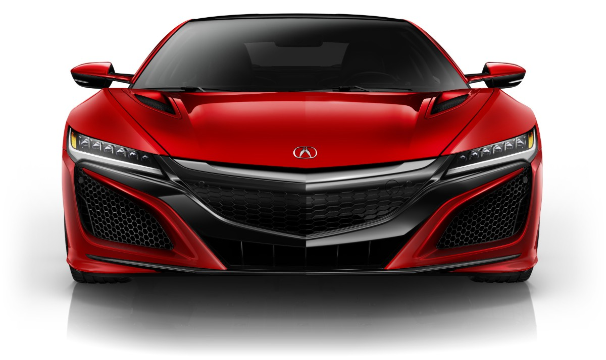 Acura NSX Paint Curva Red Racing Heritage Front View