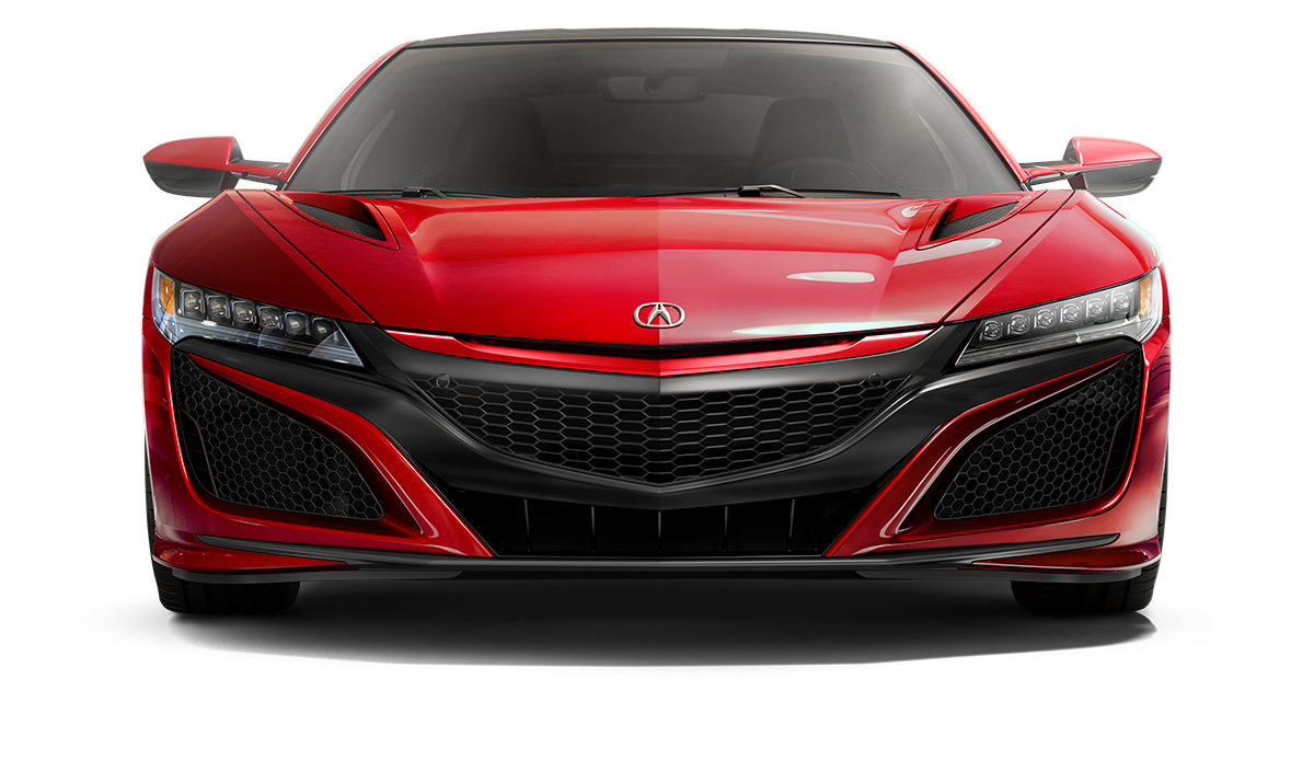 2019 Acura NSX Paint Curve Red